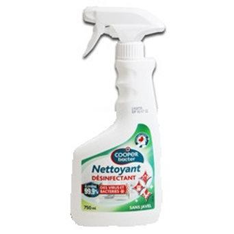Spray nettoyant désinfectant COOPER BACTER - 750 ml