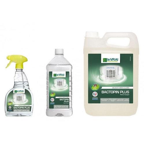 Desinfectant Bactopin Plus - Prêt à l'emploi - 1 litre