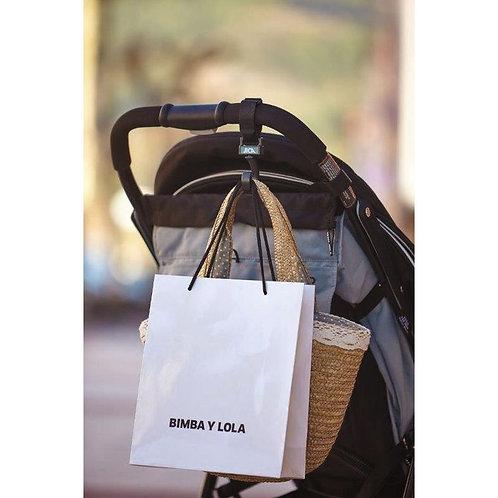 Porte-sac de type crochet avec boucle (Lot de 2)