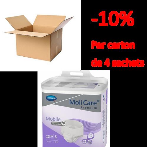 Hartmann Molicare Mobile Small 8 Gouttes / 1 carton de 4 sachets