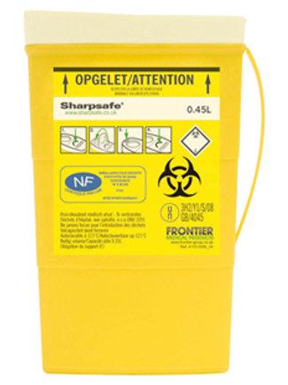 COLLECTEUR DECHET COMPACT SHARPSAFE 0,45L