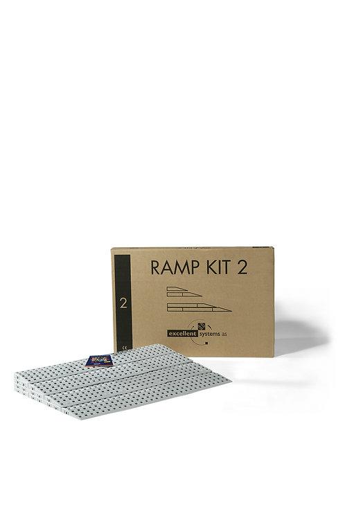 Rampe Accessibilité Kit N°2 (4,5 à 7,5 cm)