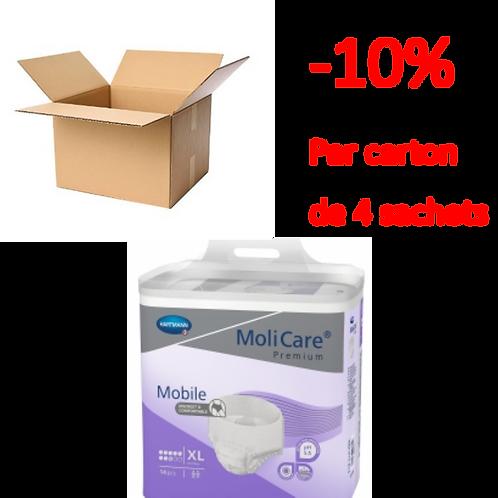 Hartmann Molicare Mobile Extra Large 8 Gouttes / 1 carton de 4 sachets