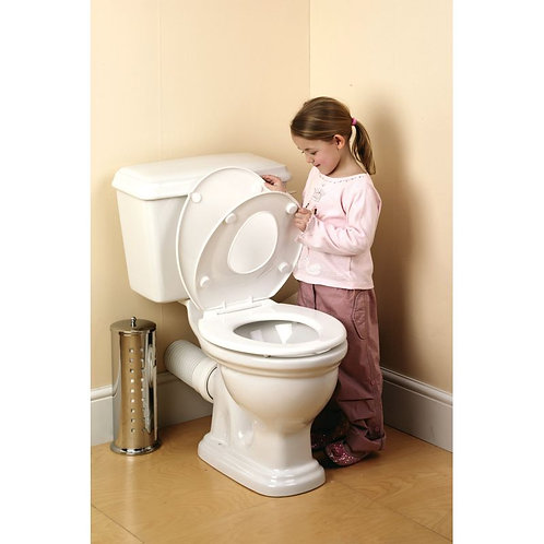 ABATTANT WC REDUCTEUR DE TOILETTES (ENFANT ET ADULTE)