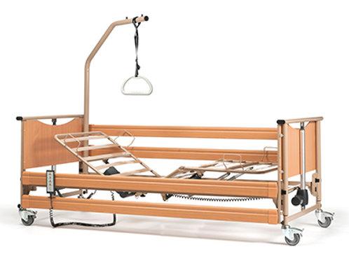 Lit médicalisé électrique LUNA BASIC (Inclus : 2 barrières et 1 potence)