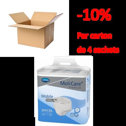Hartmann Molicare Mobile Extra Large 6 Gouttes / 1 carton de 4 sachets