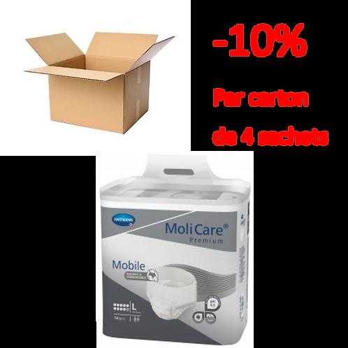 Hartmann Molicare Mobile Large 10 Gouttes / 1 carton de 4 sachets