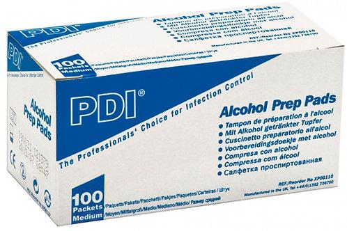 TAMPON ALCOOL PDI 30X65MM X100