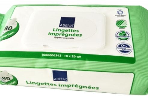Lingettes imprégnées Abena-Frantex x 80 unités