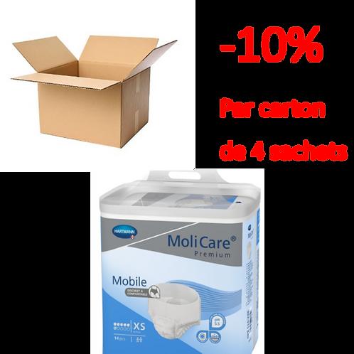 Hartmann Molicare Mobile Extra Small 6 Gouttes / 1 carton de 4 sachets