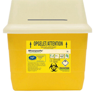 COLLECTEUR DECHET SHARPSAFE 3L