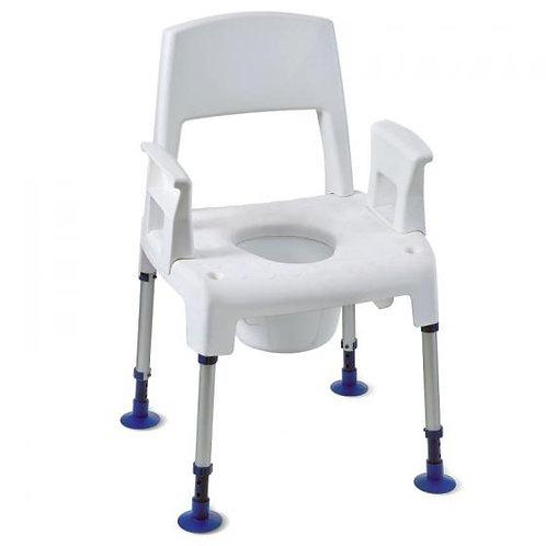 Chaise percée (garde-robe) modulaire et évolutive