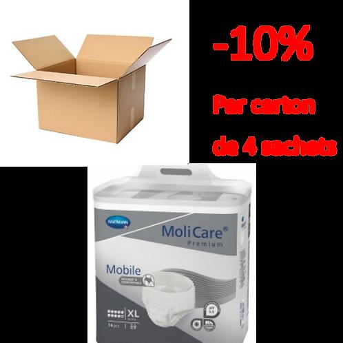Hartmann Molicare Mobile Extra Large 10 Gouttes / 1 carton de 4 sachets