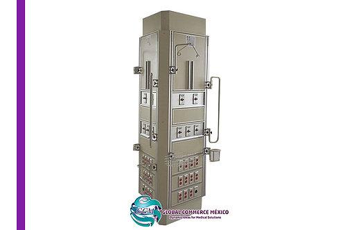 Sistema de pilar técnico o columna de piso a techo para Terapia Intensiva.