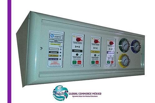 Alarma Electromecánica para Gases Medicinales con Manómetros Análogos de Presión