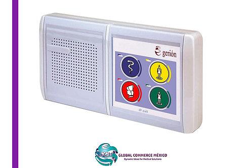 Sub estación de Paciente IP con Sistema de Voz