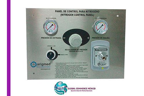 Panel para Control de Nitrógeno a Presión.