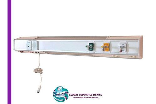 Cabecero para Pacientes tipo Horizontal 3v.