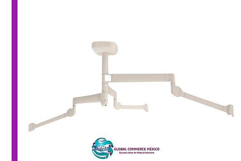 Brazo de Servicios de Techo TRIO SPR10 (3 Brazos).