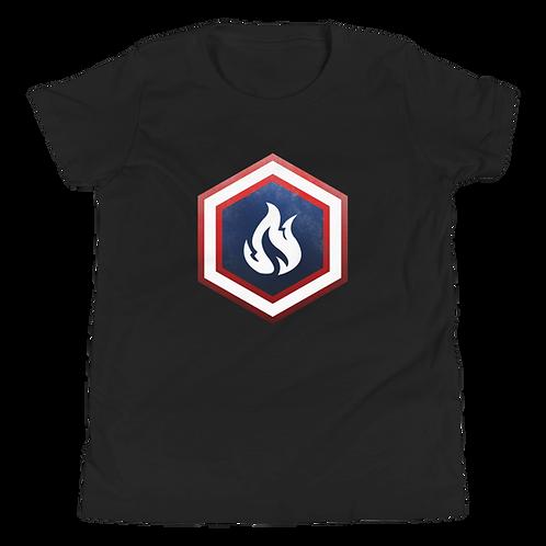 Firestorm Captain of Firestorm Youth Short Sleeve T-Shirt
