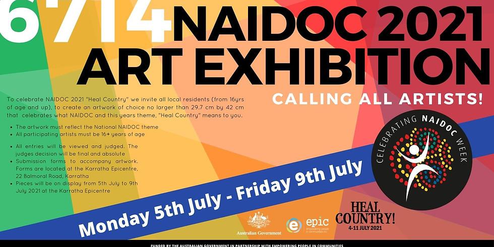 6714 NAIDOC 2021 Art Exhibition