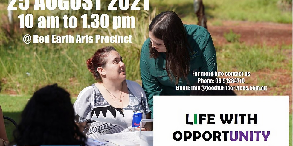 Life with opportunity - NDIS Expo 2021