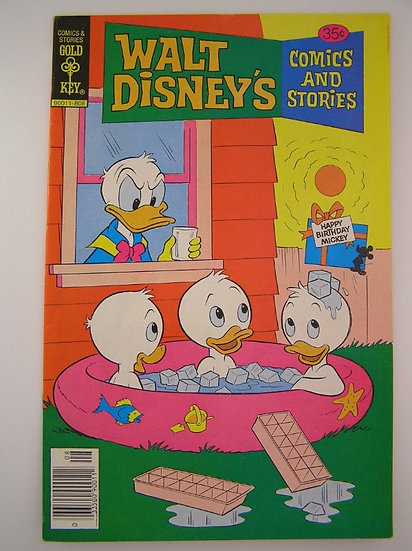 Walt Disney's Comics and Stories #455