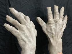 Monster Hands sculpture