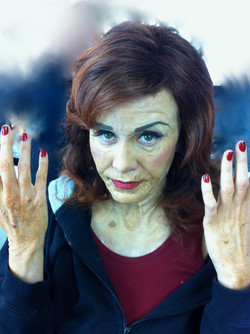 Old age makeup for Call me Fitz