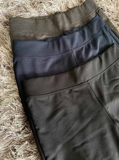 Pantalón ajustado tiro alto - KNTI04