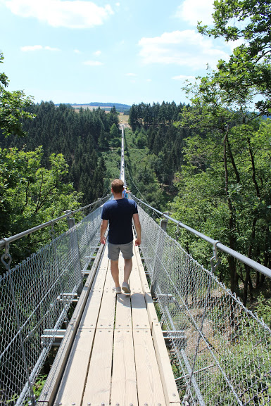 Hangbrug Geierlay, Duitsland