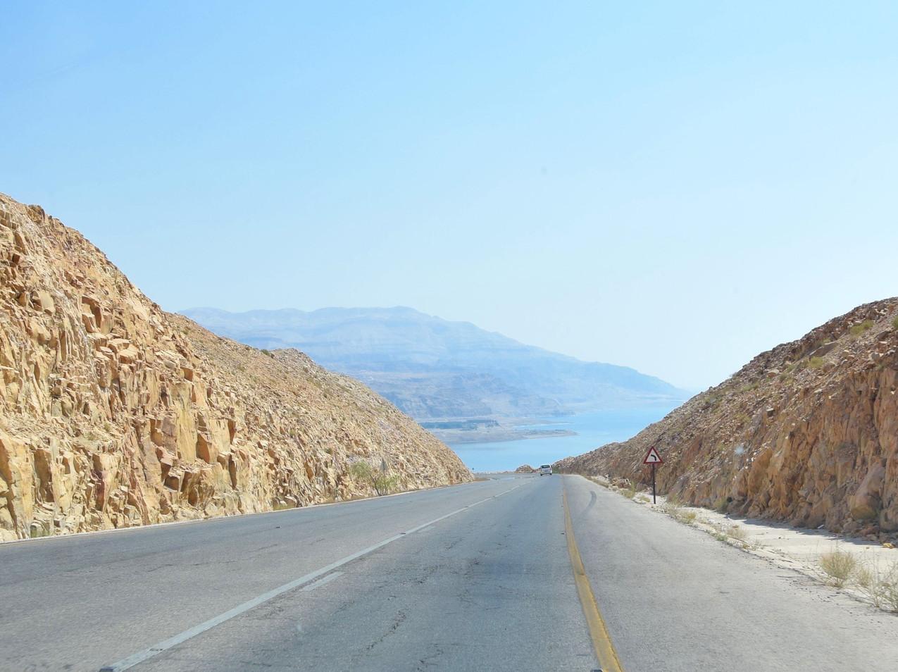 Jordanie Dead Sea Highway