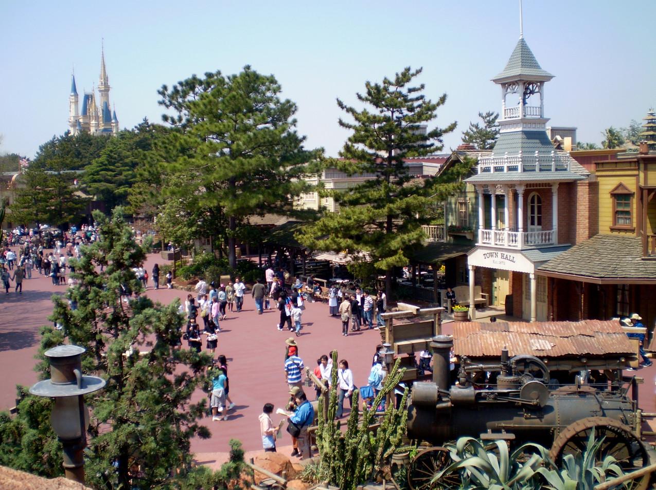 Disneyland Tokyo Tokio