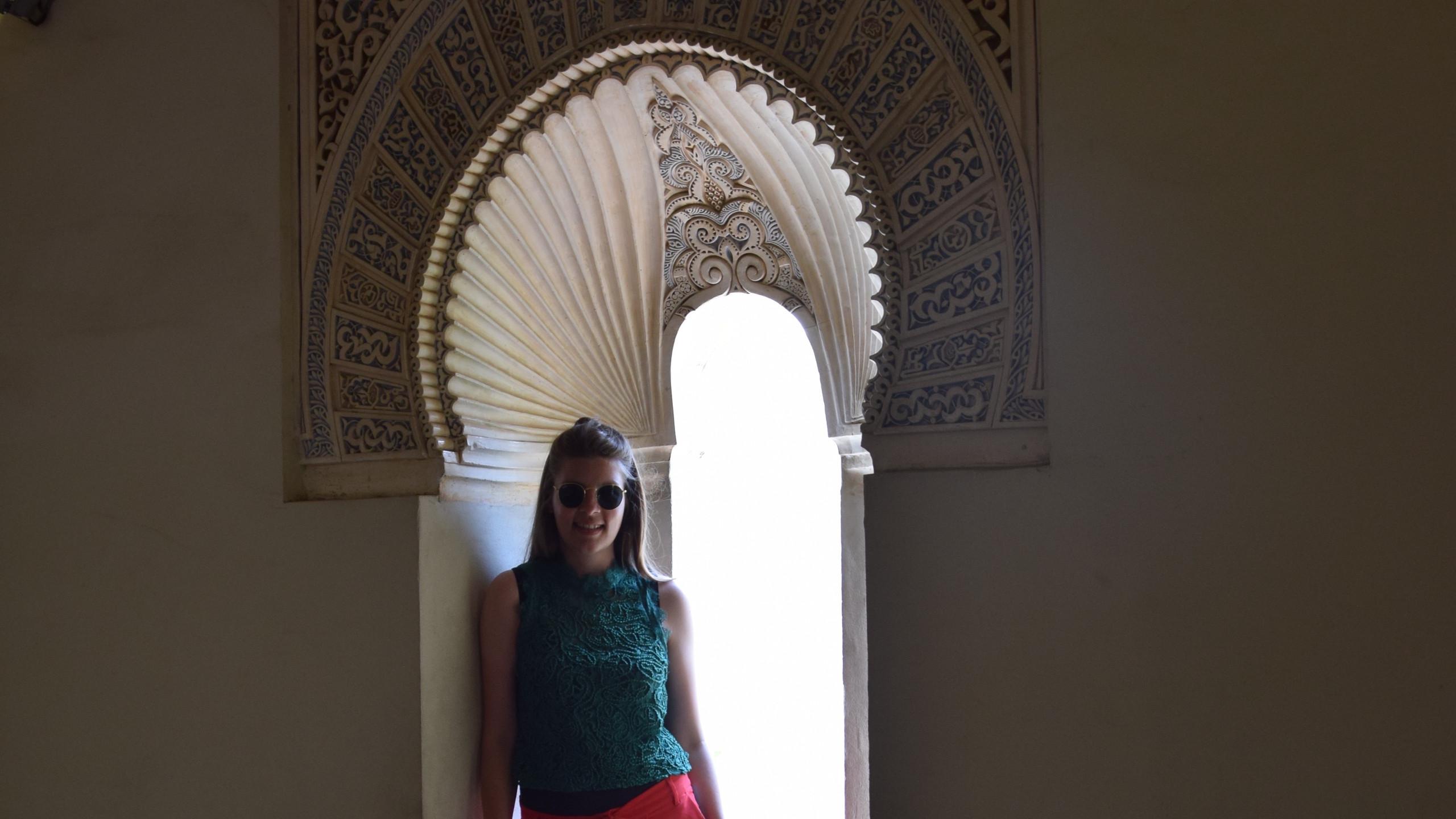 Alcazaba de Malaga Andalusië