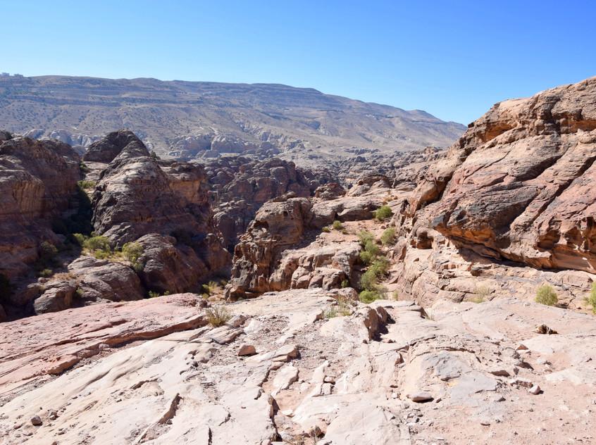 Jordanie Petra Treasury Vista