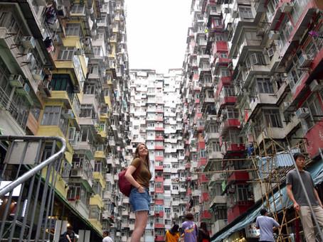 Het noordoosten van Hong Kong Island, waar de Britse kolonisatie begon