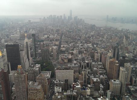 New York, mijn city walk door deze concrete jungle