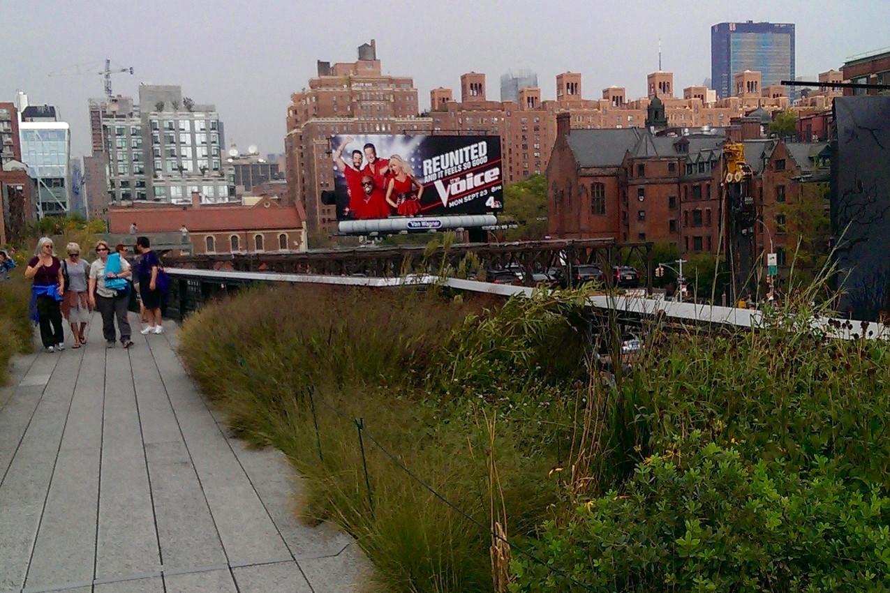 New York City The High Line