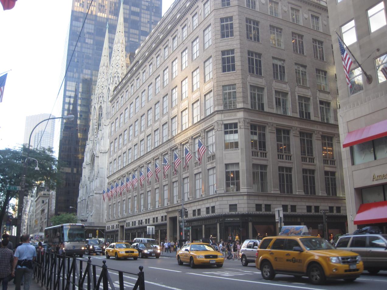 New York Manhattan 5th Avenue