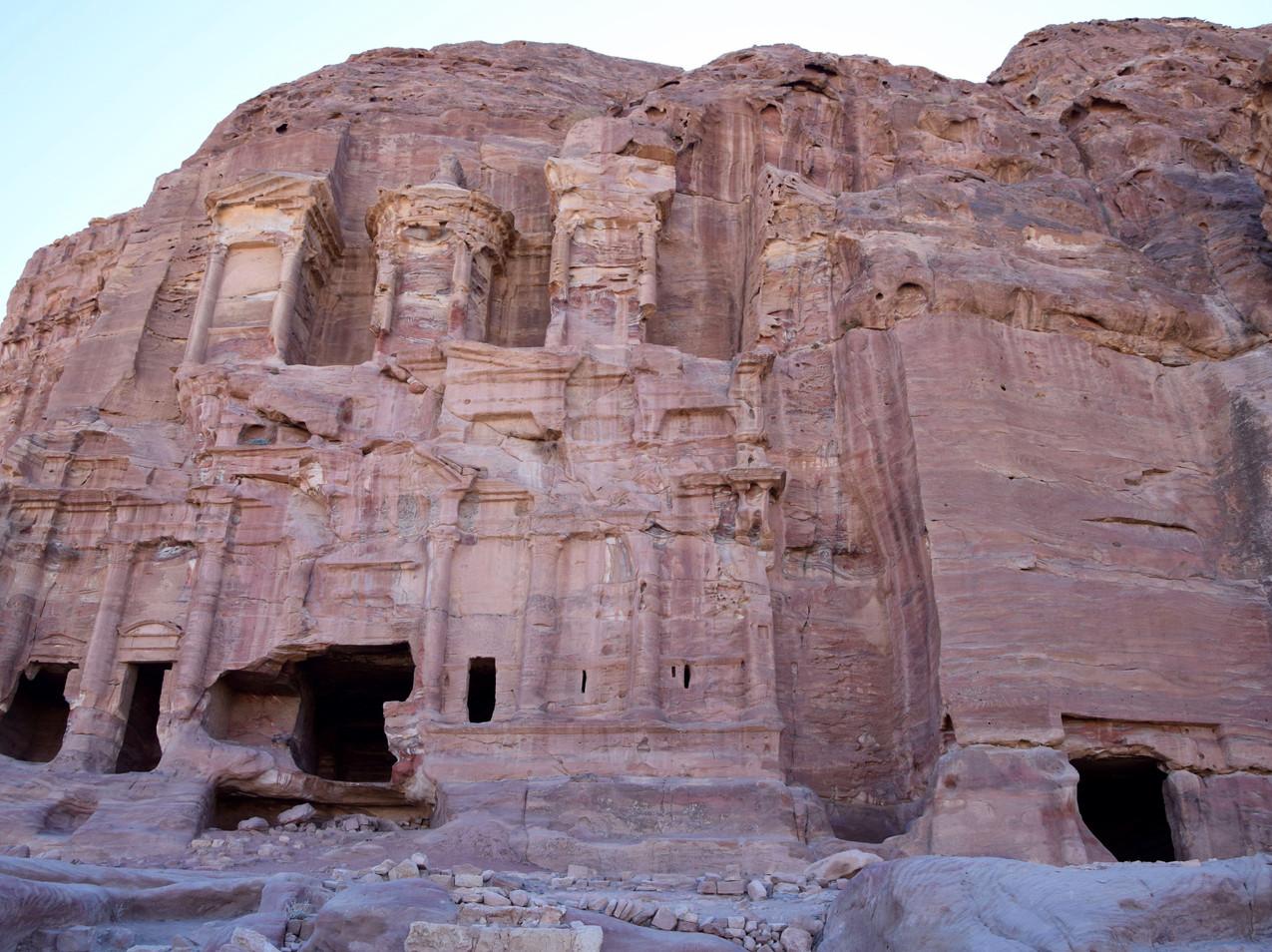 Jordanie Petra Royal Tombs
