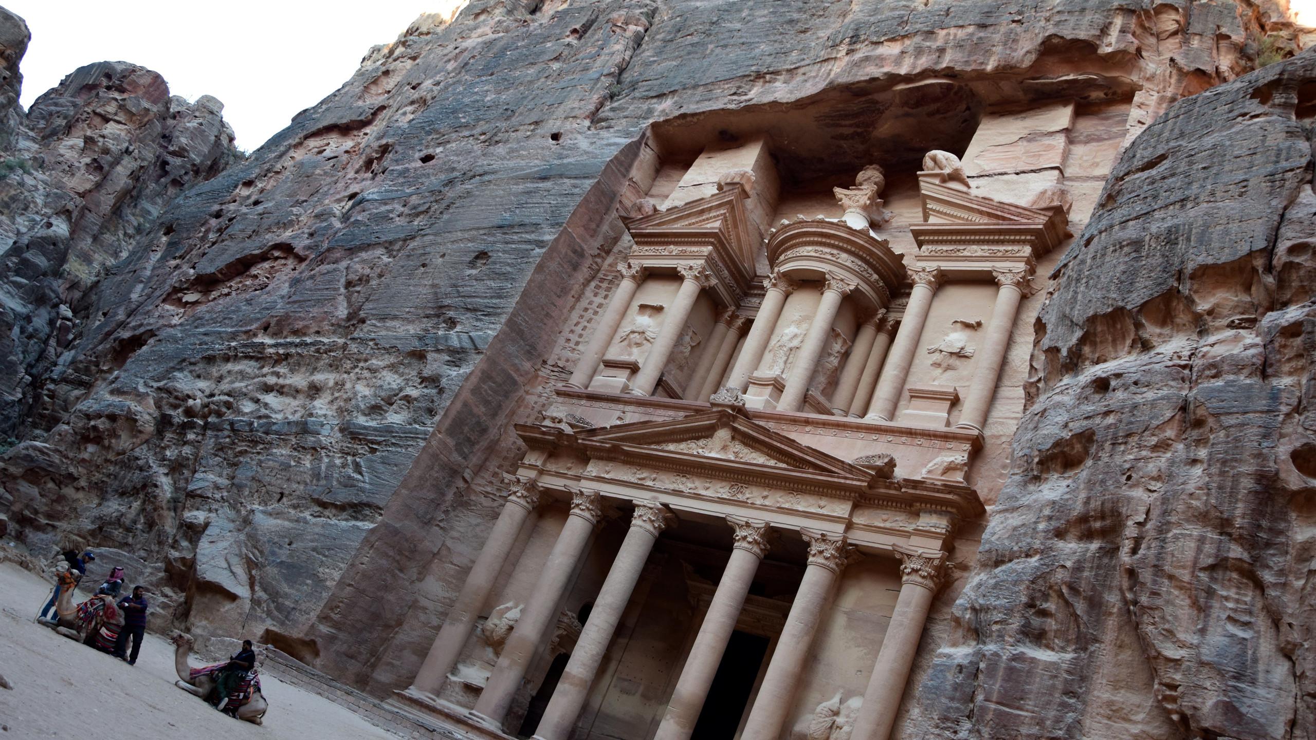 Jordanie Petra Treasury