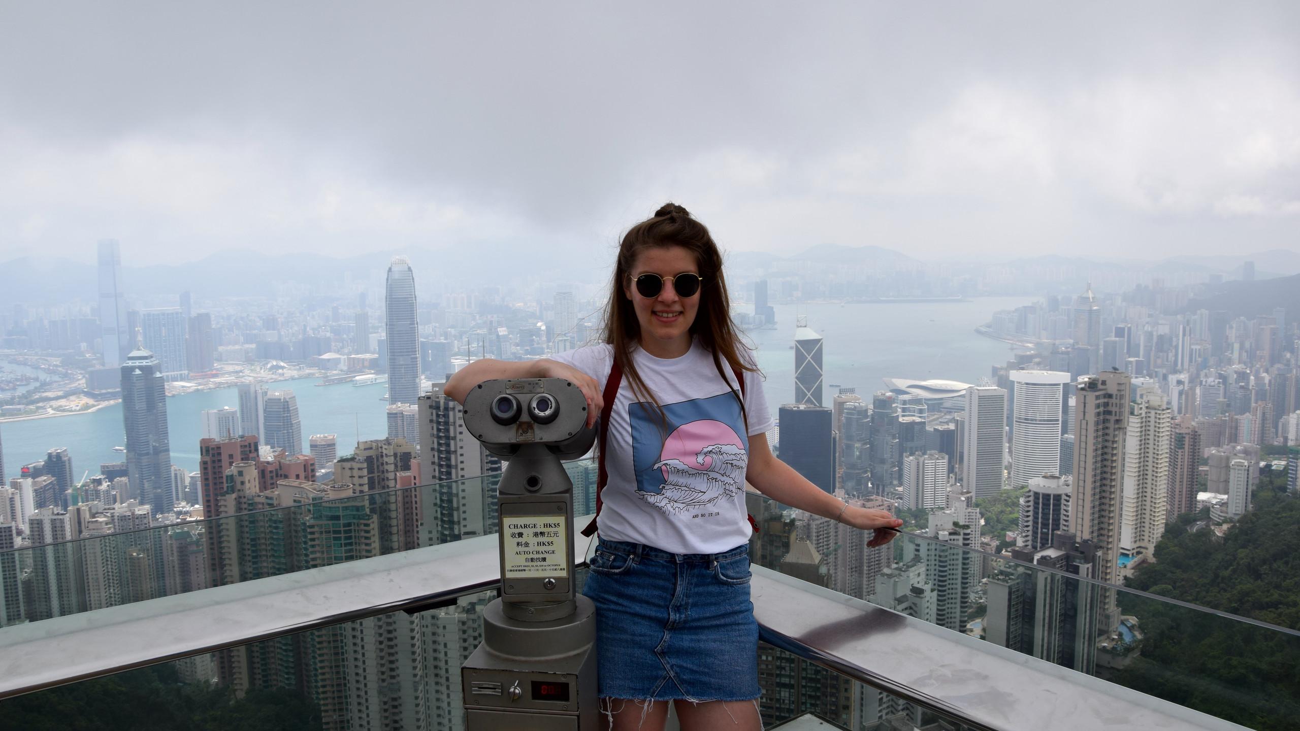 Hong Kong Victoria Peak Tower