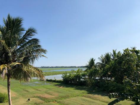 De zuidkust van Sri Lanka