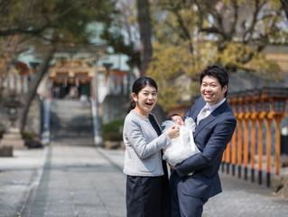 片山神社出張撮影 お宮参り