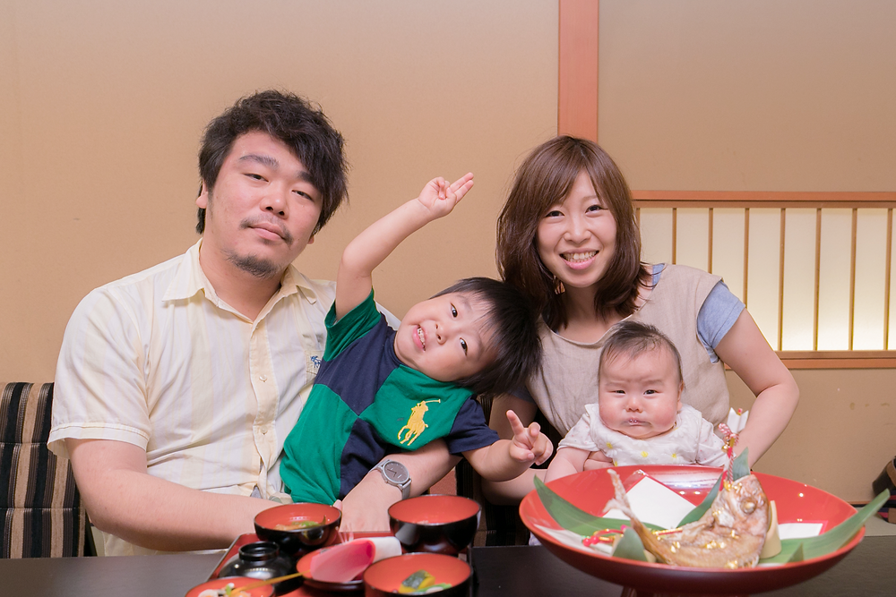 お食い初め 出張撮影大阪