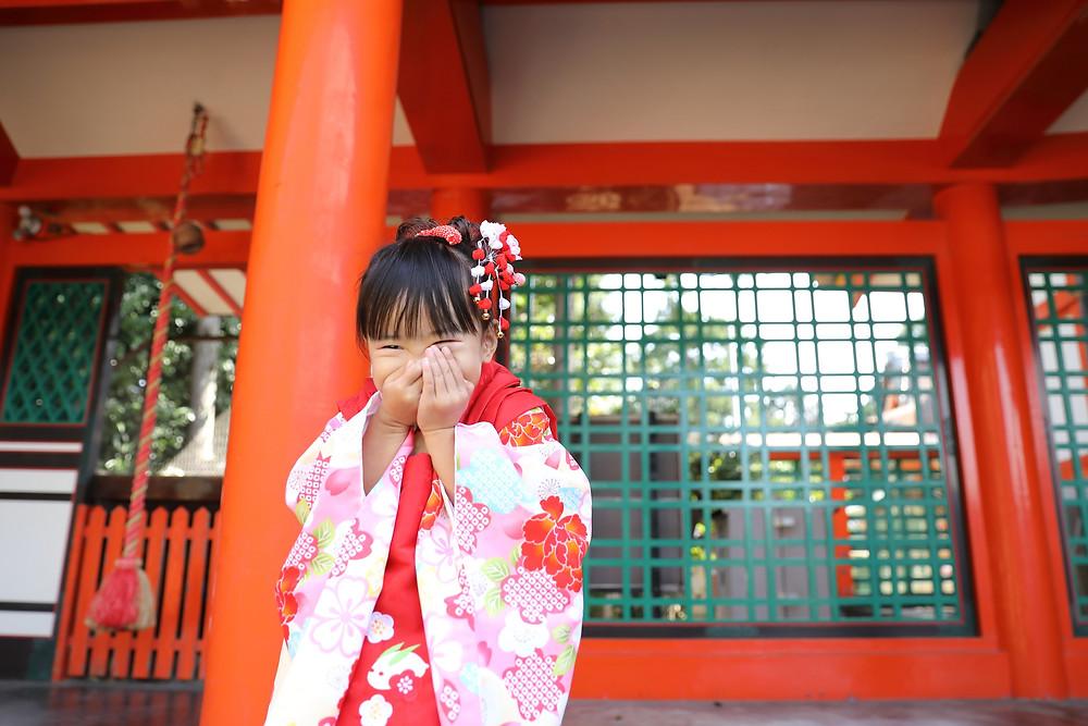 七五三 出張写真撮影 大阪 奈良 格安