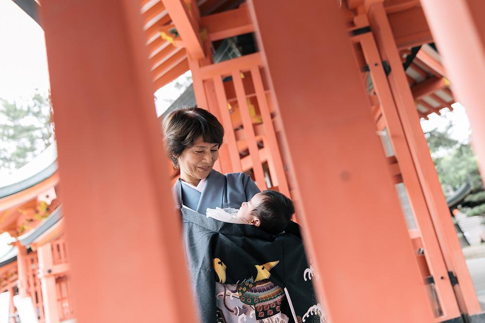 お宮参り ロケーション撮影 大阪