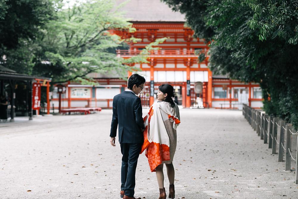 下鴨神社 お宮参り出張撮影