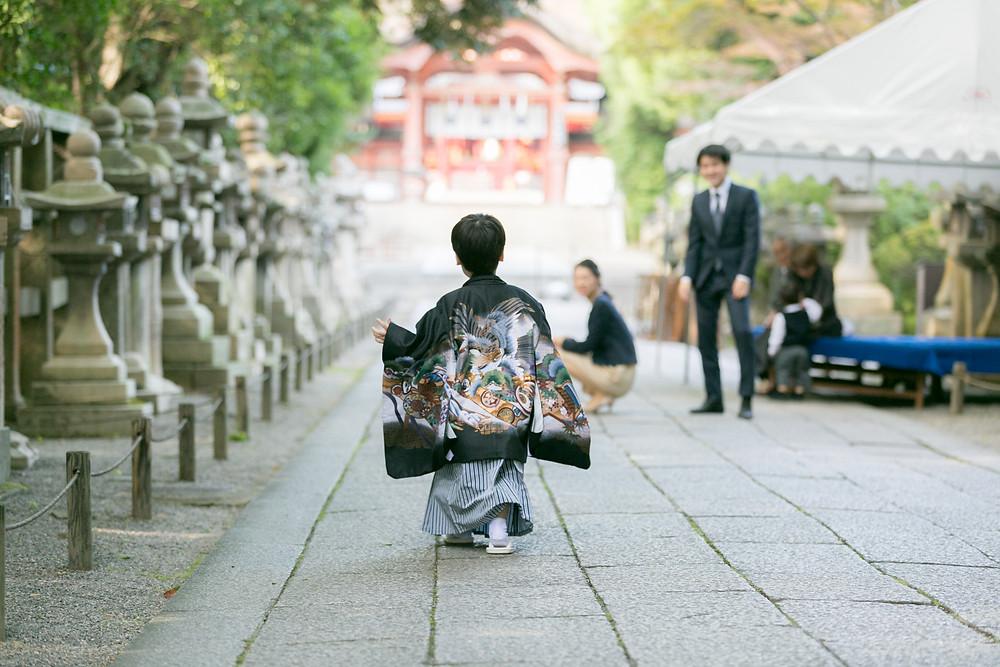 七五三 出張撮影 京都