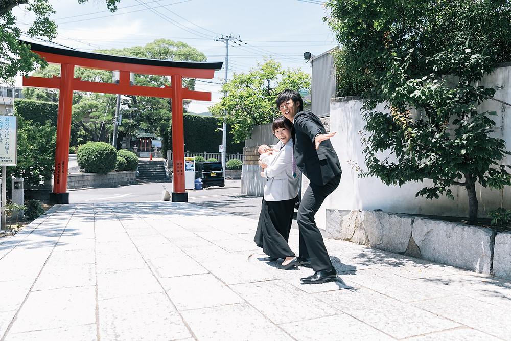 神戸市 お宮参り出張撮影